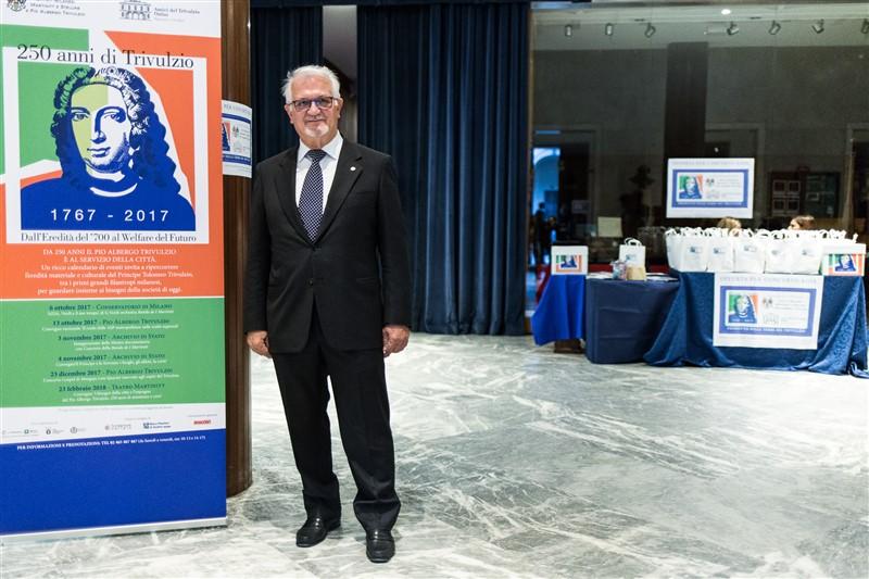 Alessandro Bacciocchi, Presidente dell'Associazione ex Martinitt e ex Stelline