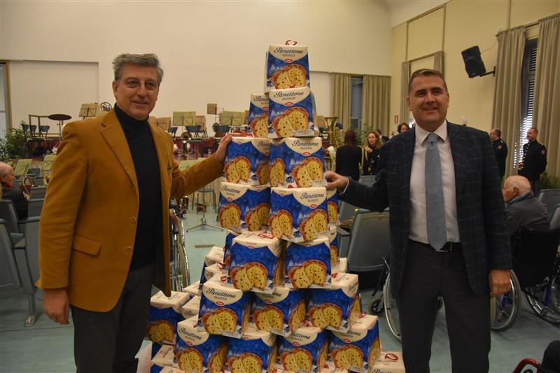 Claudio Sileo, Direttore Generale ASP I. M. M. e S. e Pio Albergo Trivulzio e Andrea Colombo, Direttore Generale Coop Lombardia