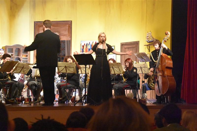 Dominika Zamara, Soprano e Michele Fioroni, Direttore Artistico Banda de I Martinitt