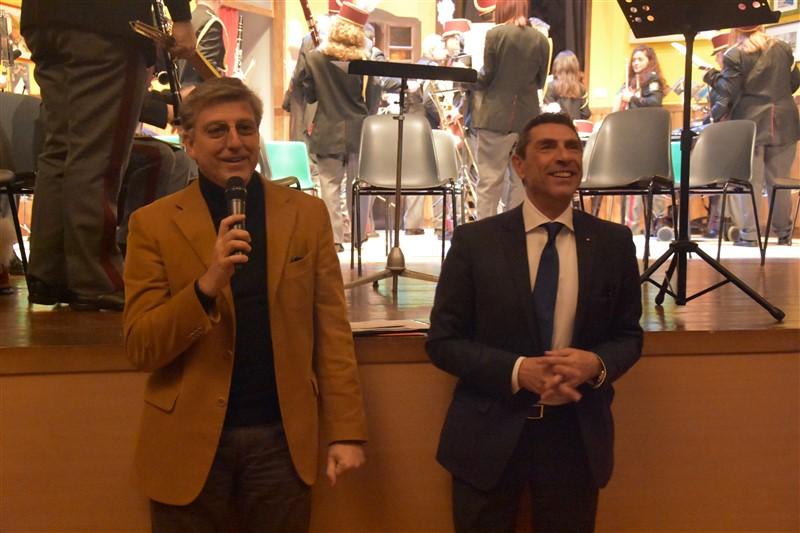 Claudio Sileo, Direttore Generale ASP I. M. M. e S. e Pio Albergo Trivulzio e Felice Mirabella, Responsabile I. M. M. e S.