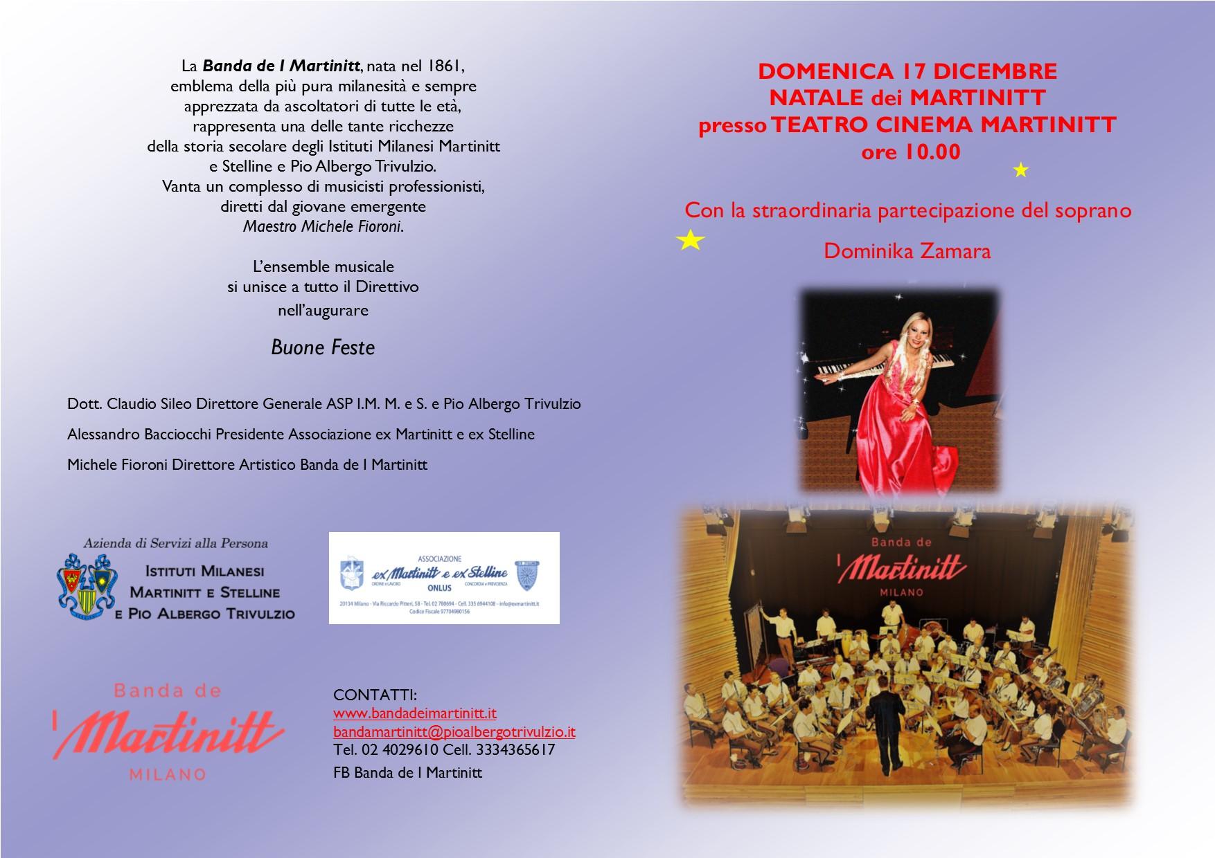 Festa di Natale delle comunità dei Martinitt e delle Stelline