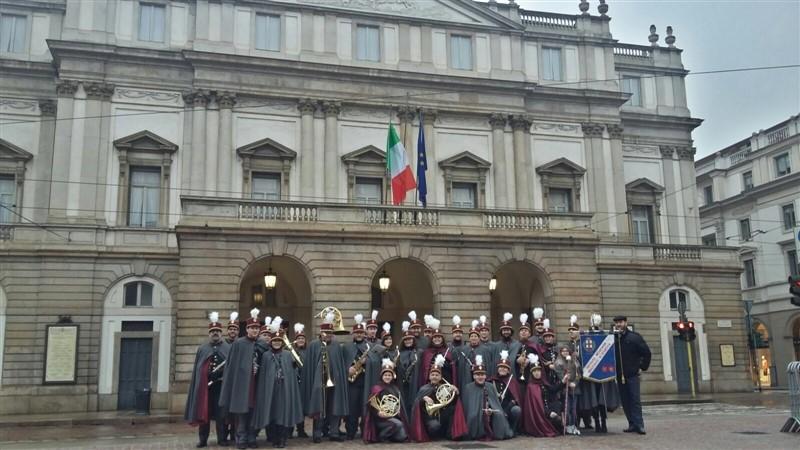 Scambio di auguri di inizio anno con le principali Autorità di Milano e i cittadini
