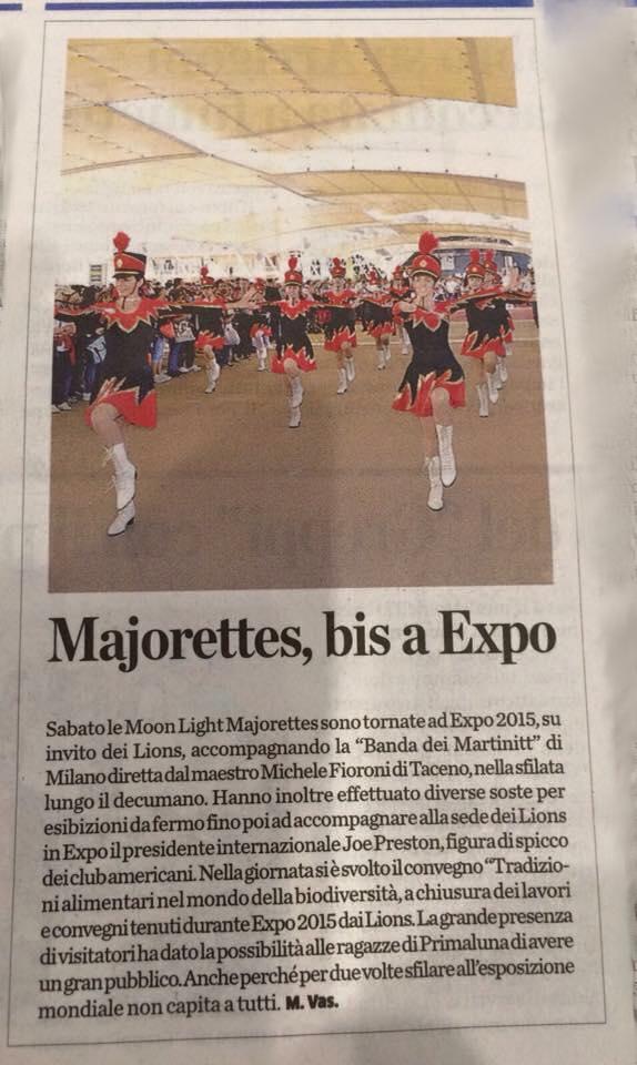 Expo 2015. La Provincia di Lecco, 27.09.2015