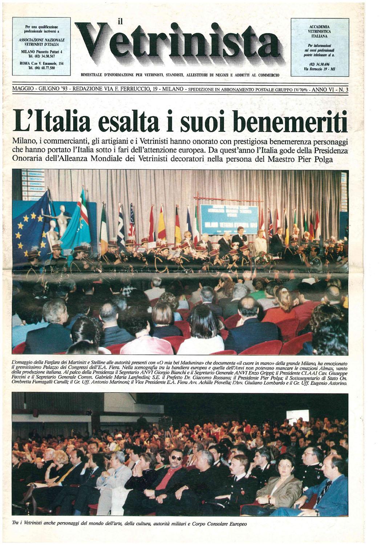 Il Vetrinista, maggio-giugno 1993