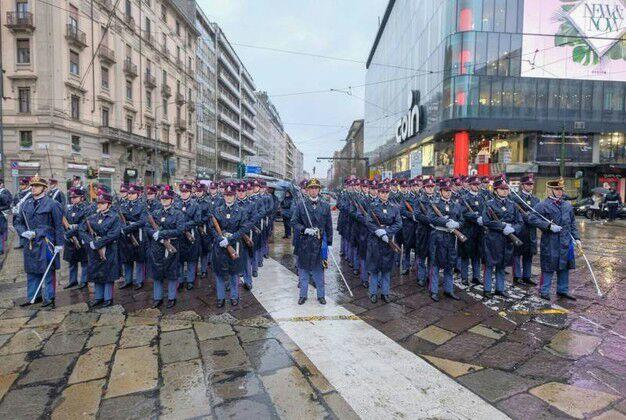 Scuola militare Teuliè. Estratto da Il Giorno, 18.03.2018