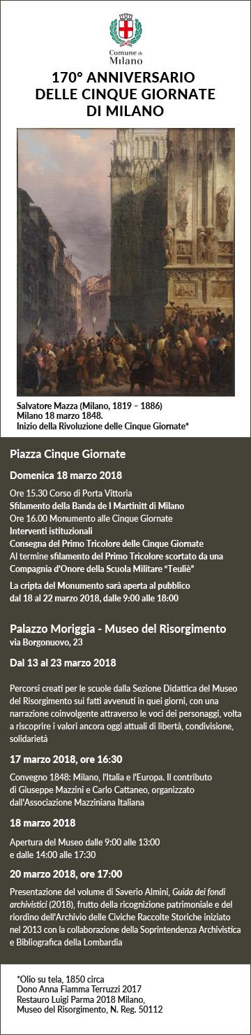 Cinque Giornate di Milano 18.03.2018