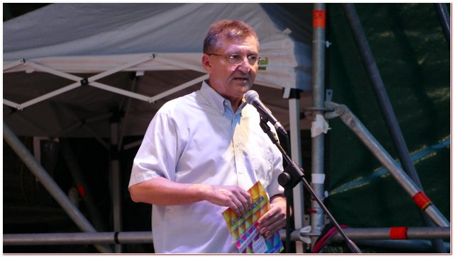 Gianfranco Scafidi, sovrintendente per la Civica Orchestra di Fiati del Comune di Milano