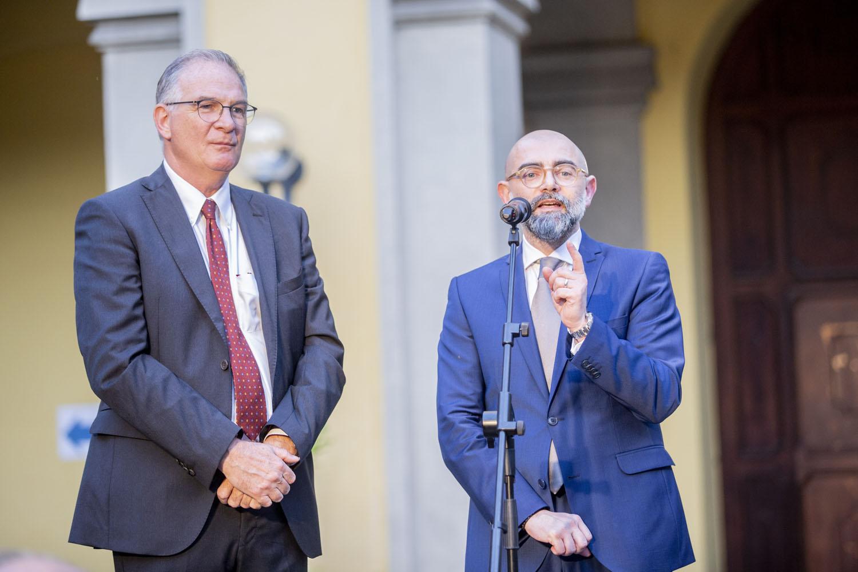 Presidente del Consiglio di Indirizzo del Pio Albergo Trivulzio - Maurizio Carrara ed il Direttore Generale - Giuseppe Calicchio. ©Cassaro